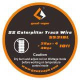 Готовая намотка в катушке GeekVape 10ft SS Caterpillar Track