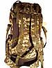 Рюкзак туристический Козак 1223м 50 литров пиксель зеленый, фото 5