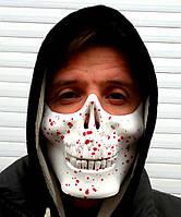 Маска череп полумаска на Хэллоуин