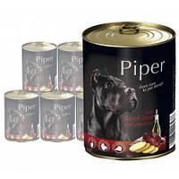 Dolina Noteci Piper 800гр*12шт -консервы для собак (разные вкусы)+Доставка бесплатно!