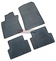 Резиновые коврики RENAULT SANDERO 2008 ➤ комплект резиновых ковриков ➤4 ШТ.