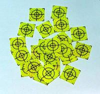 100 шт. Марки геодезические 20x20 - салатовые