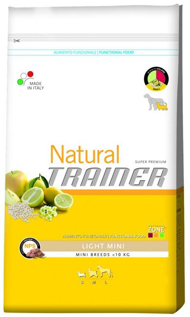 Корм для мини-собак с лишним весом Trainer Natural Adult Mini Light