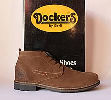 Шикарные замшевые ботинки Dockers by Gerli, Германия-Оригинал
