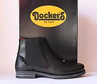 Шикарные кожаные ботинки Dockers by Gerli, Германия-Оригинал