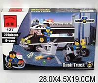 Конструктор BRICK Ограбление инкассаторского фургона