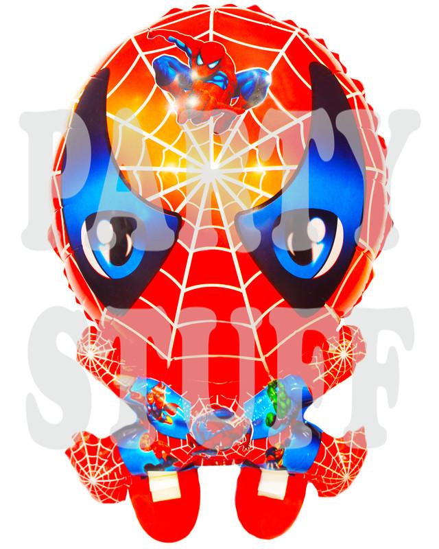 фольгированный шар с ножками Спайдер Мэн
