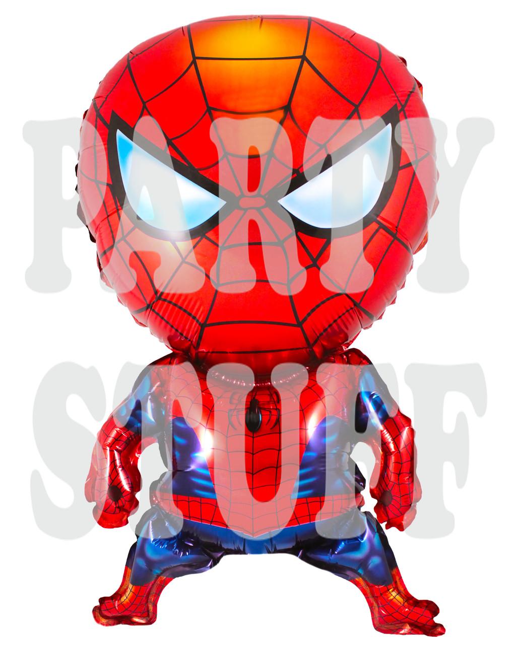 Фольгированный воздушный шарик Человек Паук, 75*45 см