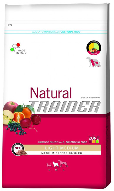 Корм для собак Trainer Natural Adult Medium Chicken, Rice & Aloe Vera