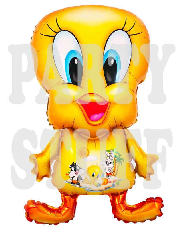 фольгированный фигурный шарик Твити