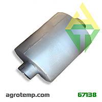 Глушитель системы выхлопа СМД-18 ДТ-75 79.29.011