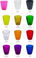 """Кашпо для Орхідеї """"Ромашка"""" 1,5л h-16,5 / різні кольори"""