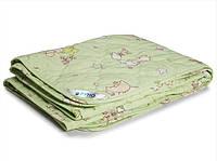 Одеяло в кроватку 140х105 Руно Салатовый пузатик