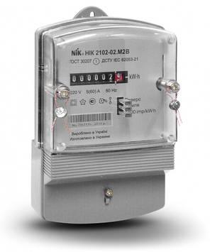 Электросчетчик NIK 2102-02 М2В однофазный не тарифный, фото 2