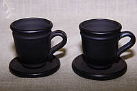 "Чашка дзвоник ""Чорна кераміка"" ручна робота"