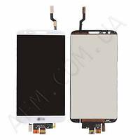 Дисплей (LCD) LG D800 G2/  D801/  D803/  LS980/  VS980 с сенсором белый оригинал