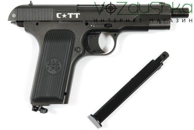 пистолет crosman tt