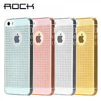 Силиконовый (TPU) чехол Rock Fla Series для iPhone 5/5S/SE