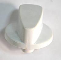 Ручка регулировки для газовой плиты NORD (нового образца,белая)