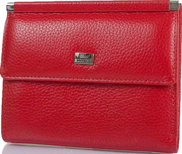 Жіночий шкіряний гаманець Desisan Shi105-4 червоний