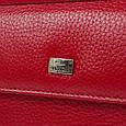 Жіночий шкіряний гаманець Desisan Shi105-4 червоний, фото 5