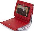 Жіночий шкіряний гаманець Desisan Shi105-4 червоний, фото 6