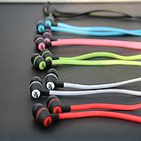 Навушники вакуумні Nike, зелені, в пакеті, фото 2