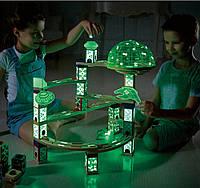 Конструктор светящийся Космический город-176 деталей