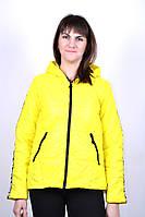 Куртка весенняя с капюшоном (жёлтый)