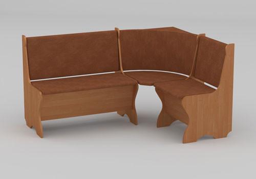 Функциональный кухонный уголок «Канада» производства мебельной фабрики Компанит