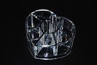 Органайзер для косметики сердце 8 ячеек (SF-1057)