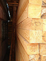 Брус сосновый 100х150 мм сухой строганный