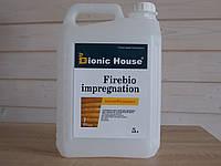 Огнезащита Огнезащитная и биозащитная пропитка  антисептик для дерева. Firebioimpregnation