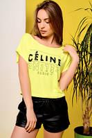Женская футболка  22151