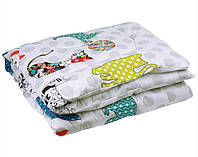 Одеяло в кроватку 140х105 Руно Cat