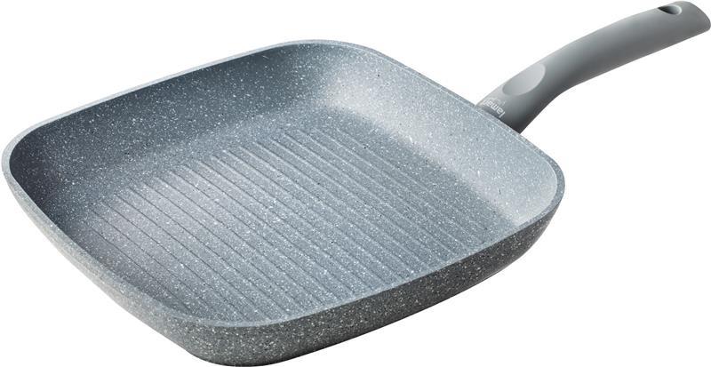 Сковорода-гриль с мраморным покрытием 26см, Lamart LT1058