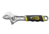 Ключ разводной Sigma 200 мм CrV с обрезиненной рукоятью (4101021)