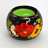 Украинские сувениры. Подсвечник Осенний букет