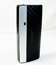 Универсальная батарея Power Bank UKC 20000mAh + фонарик, черная