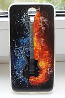 Чехол для Homtom HT3 / HT3 Pro Бампер guitar