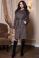 Женское теплое осеннее пальто р. 44-56 арт. 811 Тон 10