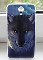 Чехол для Homtom HT3 Бампер wolf