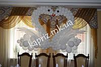 Свадебные лебеди из шаров