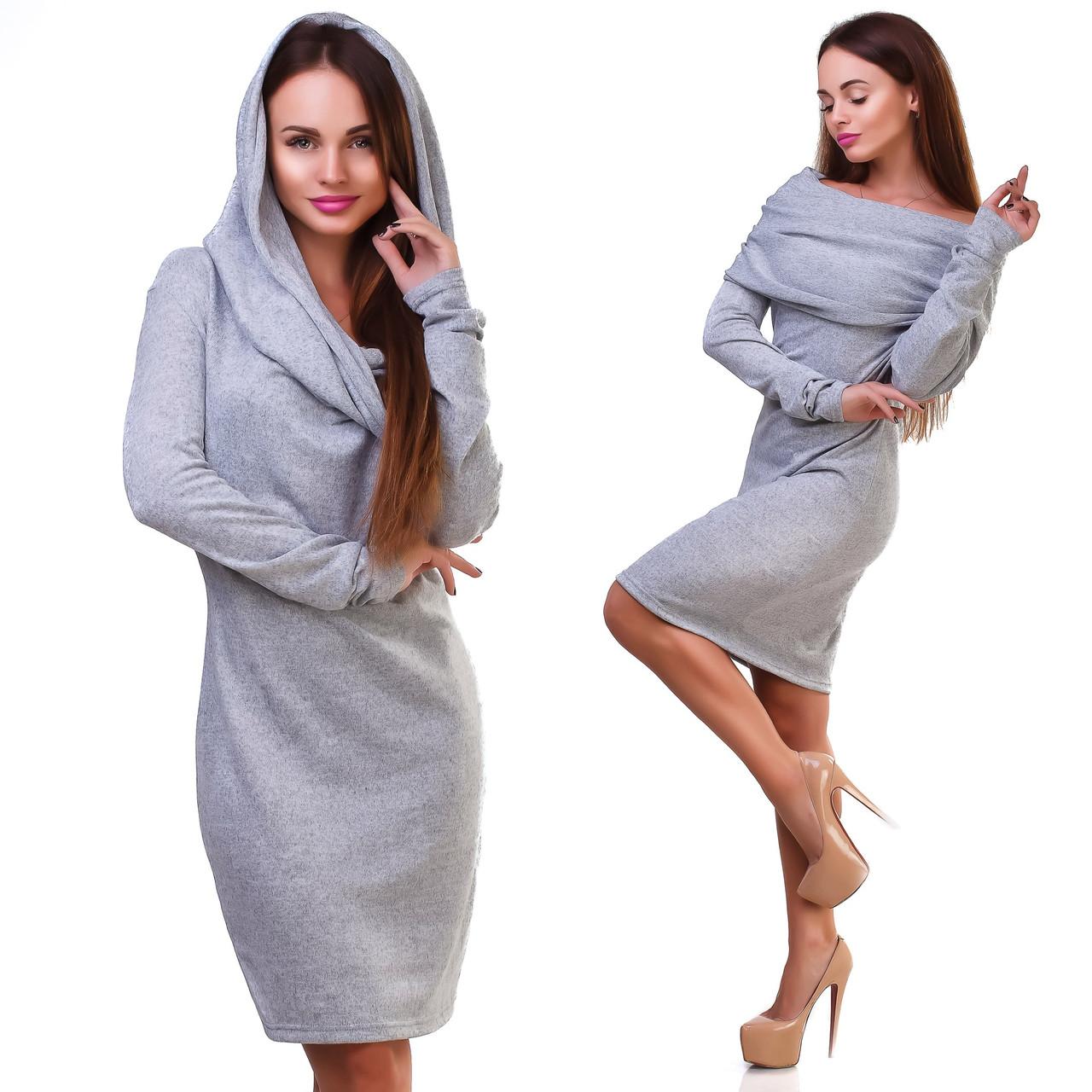 Универсальное шерстяное платье