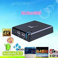 ANDROID SMART TV BOX VenBox K1 PLUS, KODI, AMLOGIC S905 QUAD CORE, 1GB/8GB, WIFI, LAN, BT 4.0, HDMI 2.0, 3D