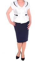 Женский костюм юбочный