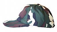 Кепка камуфляжная на флисе непромокаемая