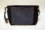 Джинсова сумочка з совою, фото 3