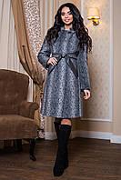 Женское теплое демисезонное пальто р. 44-60 арт. 811 Тон 13