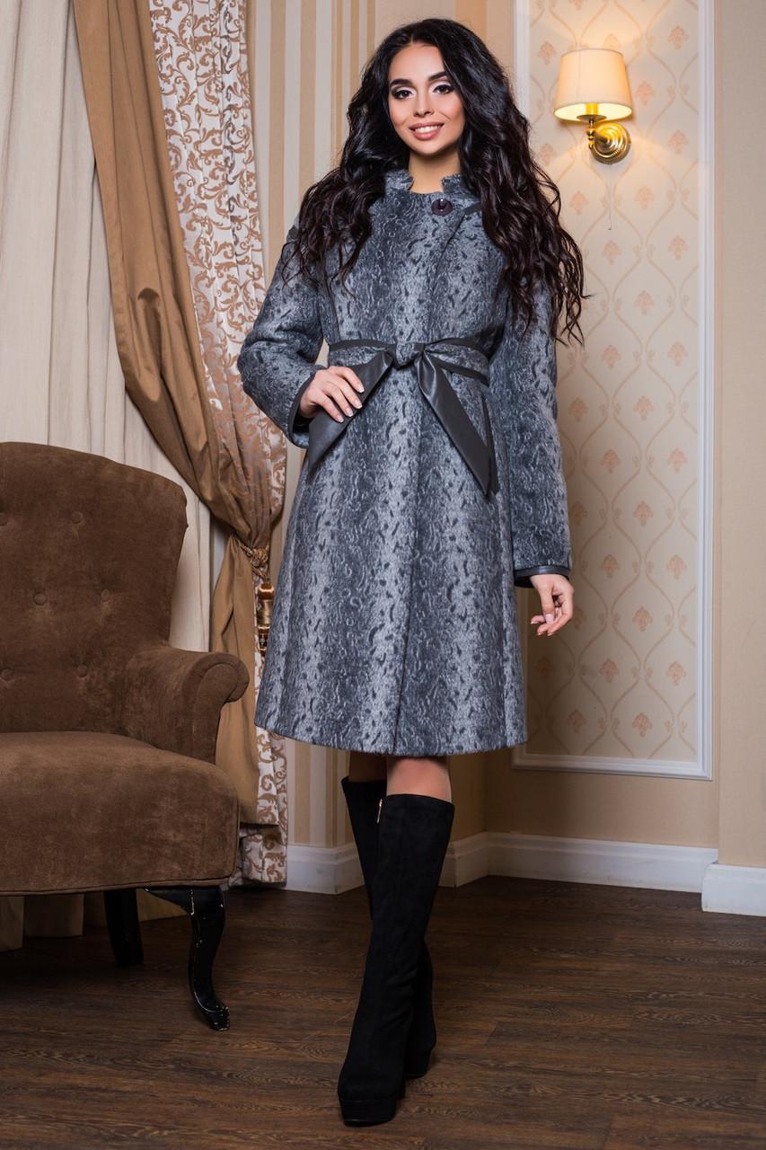 Женское теплое демисезонное пальто р. 44-60 арт. 811 Тон 13 - Модный мир в Житомире